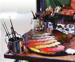 Paint, Inks, Mediums, Pastels, and Pigments