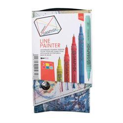 Derwent Graphik Line Painters