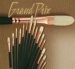 Grand Prix Hog Bristle Brushes