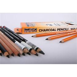 Charcoal and Carbon Pencils