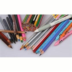 Pencils, Erasers, Charcoal and Sharpeners