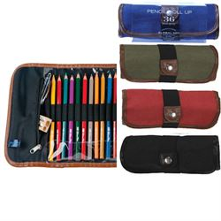 Global Canvas Pencil Roll Ups Rose