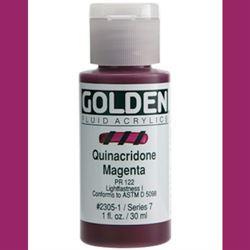 Golden Fluid Ser. 7, 8 oz. Quinacridone Magenta