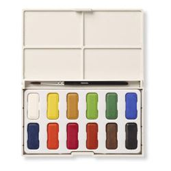 Reeves Watercolour Pan Set of 12 (Limited Quantity