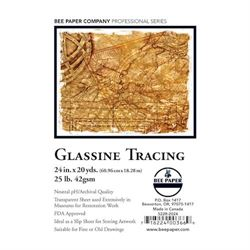 """Bee Paper Glassine Tracing Conservation Paper 25lb 24"""" X 20 yard"""