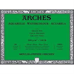 "Arches Watercolor Block 140 lb Cold Press 9"" X 12"" (A1795060)"