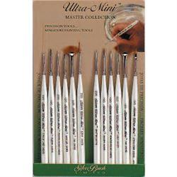 Silver Ultra Mini Brushes