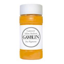 Gamblin Dry Pigment 4 oz. Cadmium Yellow Medium