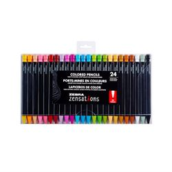 Zebra 2 mm Leads and Refillable Coloured Refills