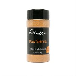 Gamblin Dry Pigment 4 oz. Raw Sienna