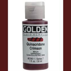 Golden Fluid Ser. 7, 8 oz. Quinacridone Crimson