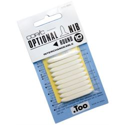 Disc Copic Large Round Nibs 10/pk