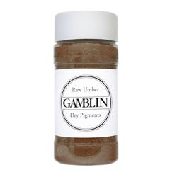 Gamblin Dry Pigment 4 oz. Raw Umber