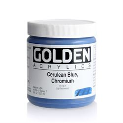 Golden Heavy Body Acrylic 8 oz.