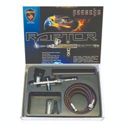 Paasche Raptor Gravity Feed Double Action Set with .25 Head