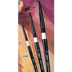 Silver Black Velvet Round Brush 3000S 6