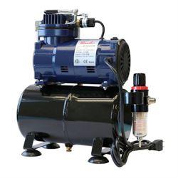 Paasche 1/5 HP Oil less Piston Compressor w/Tank & Regulator