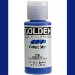Golden Fluid Ser. 8, 8 oz. Cobalt Blue