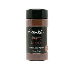 Gamblin Dry Pigment 4 oz. Burnt Umber