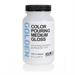 Golden Pouring Medium Gloss 8 oz./ 237 ml.
