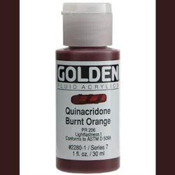 Golden Fluid Ser. 7, 8 oz. Quinacridone Burnt Orange