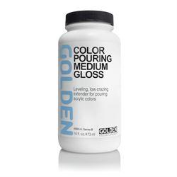 Golden Pouring Medium Gloss 16 oz./473 ml.